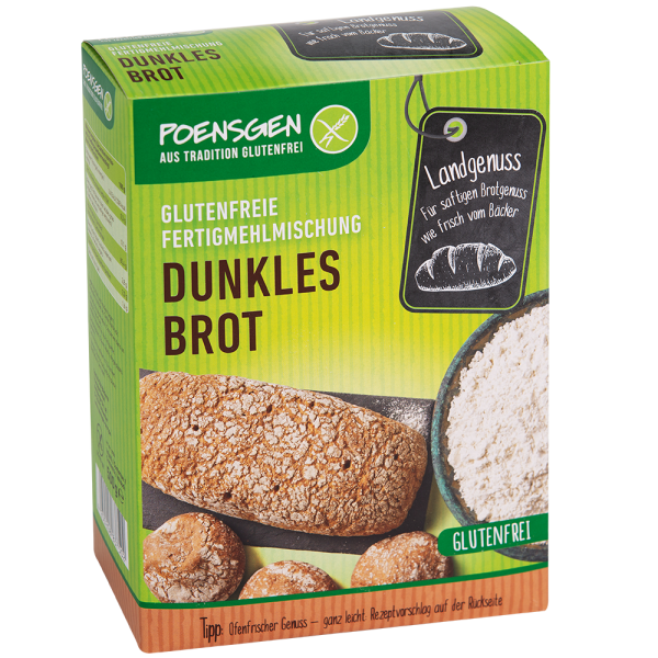 Dunkles Brot Mehlmischung